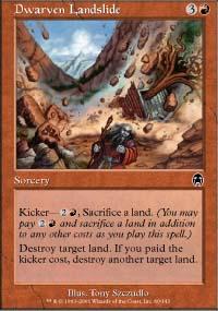 Dwarven Landslide - Apocalypse