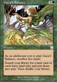 Gaea's Balance - Apocalypse