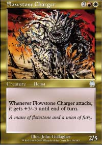 Flowstone Charger - Apocalypse