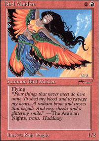 Bird Maiden - Arabian Nights