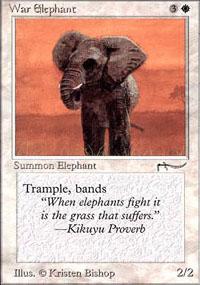 War Elephant - Arabian Nights