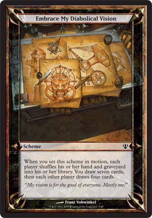 Embrace My Diabolical Vision - Archenemy - schemes