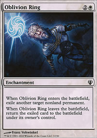 Oblivion Ring - Archenemy - decks