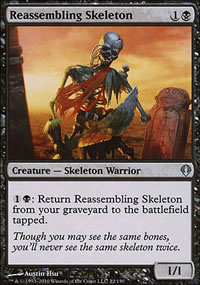 Reassembling Skeleton - Archenemy - decks