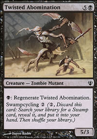 Twisted Abomination - Archenemy - decks