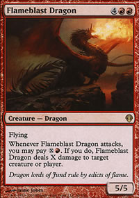 Flameblast Dragon - Archenemy - decks