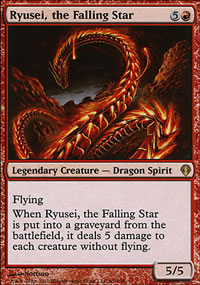 Ryusei, the Falling Star - Archenemy - decks