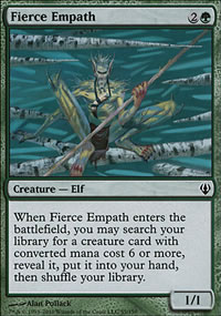 Fierce Empath - Archenemy - decks