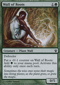 Wall of Roots - Archenemy - decks