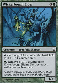 Wickerbough Elder - Archenemy - decks