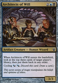 Architects of Will - Archenemy - decks
