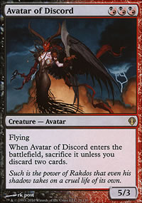 Avatar of Discord - Archenemy - decks