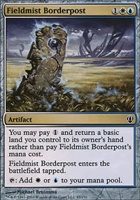 Fieldmist Borderpost - Archenemy - decks