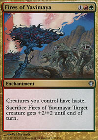 Fires of Yavimaya - Archenemy - decks
