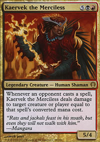 Kaervek the Merciless - Archenemy - decks