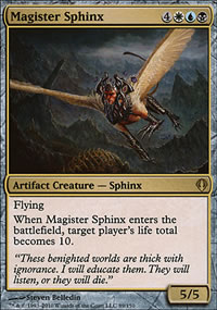 Magister Sphinx - Archenemy - decks