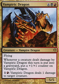 Vampiric Dragon - Archenemy - decks