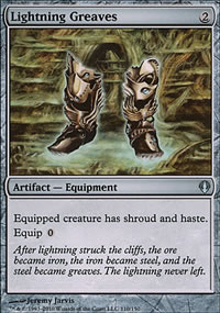 Lightning Greaves - Archenemy - decks