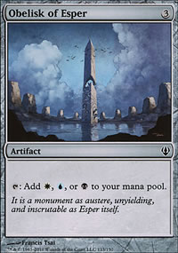 Obelisk of Esper - Archenemy - decks