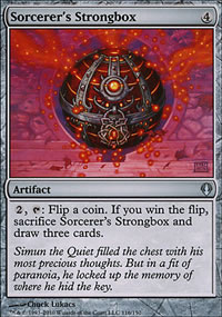 Sorcerer's Strongbox - Archenemy - decks