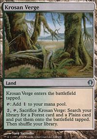 Krosan Verge - Archenemy - decks