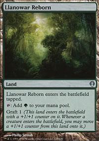 Llanowar Reborn - Archenemy - decks
