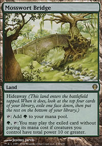 Mosswort Bridge - Archenemy - decks