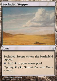 Secluded Steppe - Archenemy - decks