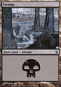 Swamp - Archenemy - decks