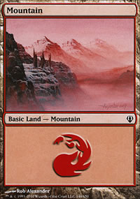 Mountain - Archenemy - decks