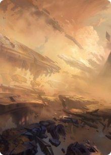 Plains - Art 1 - Zendikar Rising - Art Series
