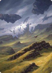 Plains - Art 5 - Zendikar Rising - Art Series