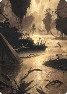 Murkwater Pathway - Art 1 - Zendikar Rising - Art Series