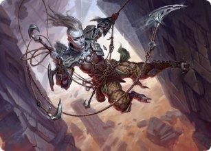 Akiri, Fearless Voyager - Art 1 - Zendikar Rising - Art Series