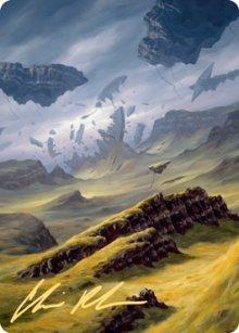 Plains - Art 6 - Zendikar Rising - Art Series
