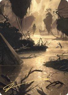 Murkwater Pathway - Art 2 - Zendikar Rising - Art Series