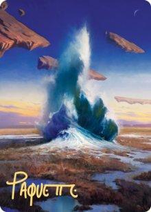 Flooded Strand - Art 2 - Zendikar Rising - Art Series