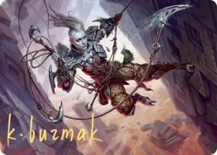 Akiri, Fearless Voyager - Art 2 - Zendikar Rising - Art Series