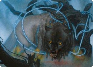 Bind the Monster - Art 1 - Kaldheim - Art Series