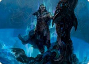 Cosima, God of the Voyage - Art 1 - Kaldheim - Art Series