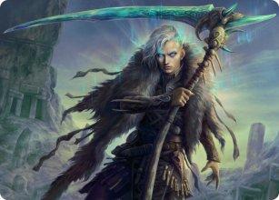 Egon, God of Death - Art 1 - Kaldheim - Art Series