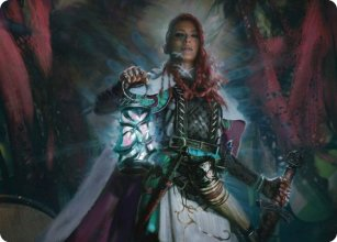 Tergrid, God of Fright - Art 1 - Kaldheim - Art Series