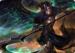Vengeful Reaper - Art 1 - Kaldheim - Art Series