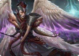Firja, Judge of Valor - Art 1 - Kaldheim - Art Series