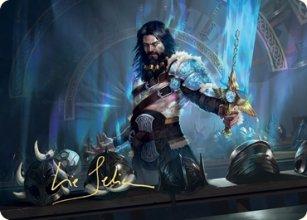Halvar, God of Battle - Art 2 - Kaldheim - Art Series