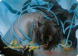 Bind the Monster - Art 2 - Kaldheim - Art Series