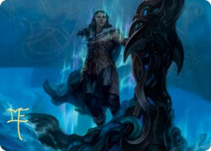 Cosima, God of the Voyage - Art 2 - Kaldheim - Art Series