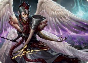 Firja, Judge of Valor - Art 2 - Kaldheim - Art Series