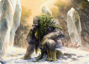 Svella, Ice Shaper - Art 2 - Kaldheim - Art Series