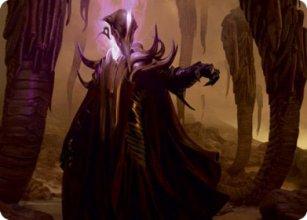 Extus, Oriq Overlord - Art 1 - Strixhaven - Art Series